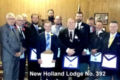 New Holland Lodge No. 392
