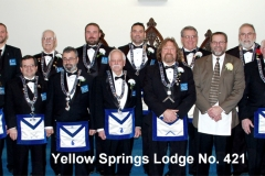 Yellow Springs Lodge No. 421